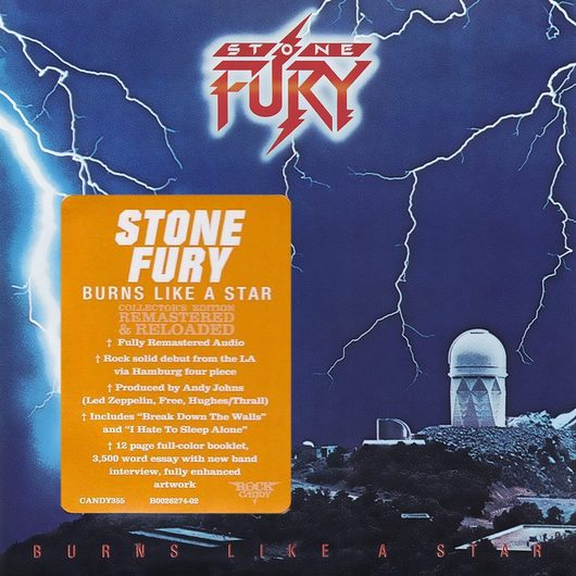 STONE FURY - Burns Like A Star [Rock Candy remastered] (2017) full