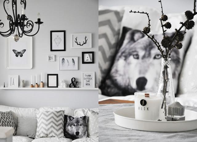 poduszka wilk