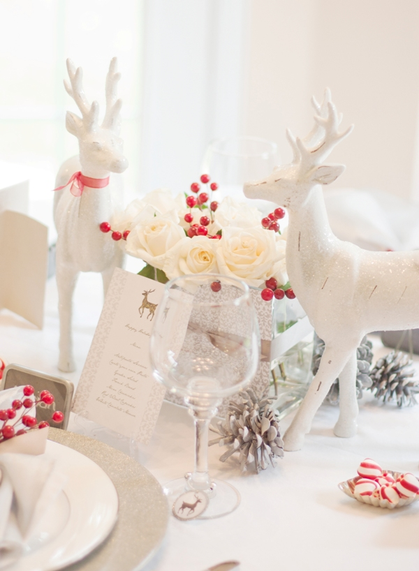An Italian Red White Holiday Dinner Party Party Ideas Party Printables Blog