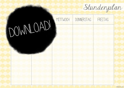 Download Stundenplan