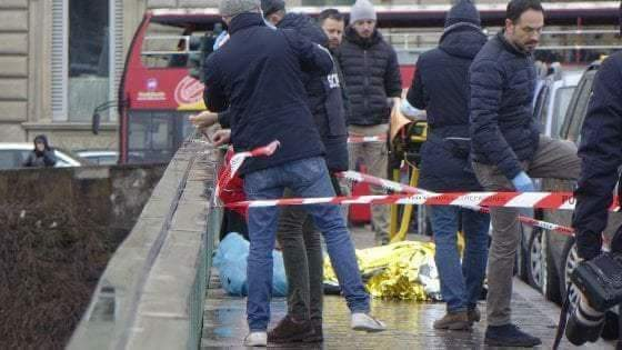 Photos: Italian man who wanted to commit suicide changed his mind and instead shot an African migrant dead