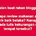 Jika blogger mula mengkritik...