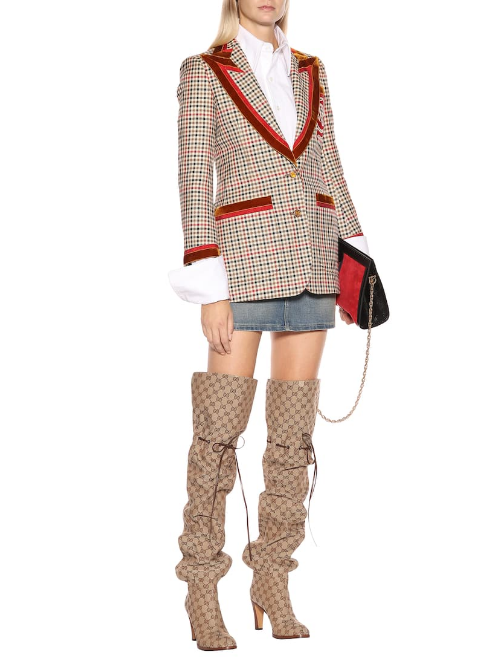 413a095d98a With Nay: HOTBUYS GUCCI INSPIRED OVER THE KNEE BOOTS