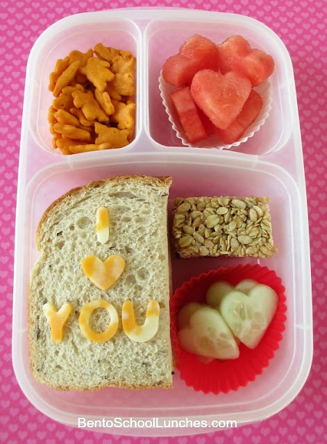 I Love You Valentine's Day Bento Lunch