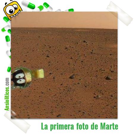 Chiste de la primera foto desde Marte