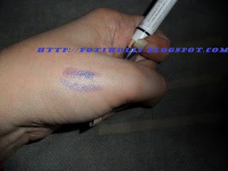 purple jumbo de NYX para maquillaje de ojos, swatches