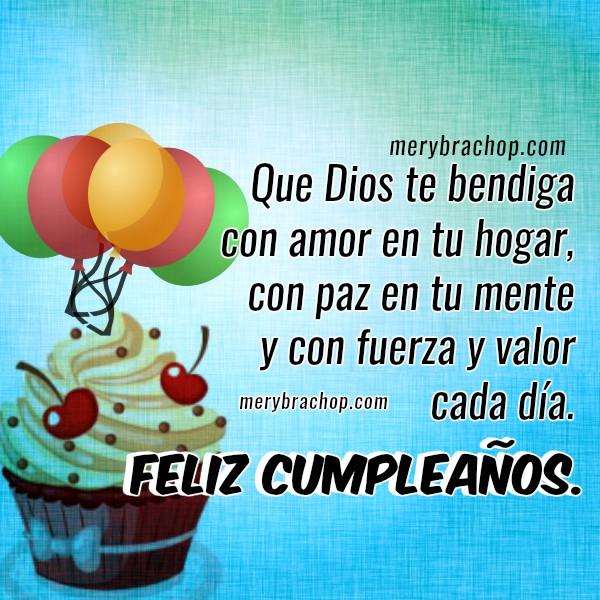 Mensajes bonitos cortos de cumpleaños para amiga, familia, amigo. Feliz cumpleaños con frases lindas por Mery Bracho