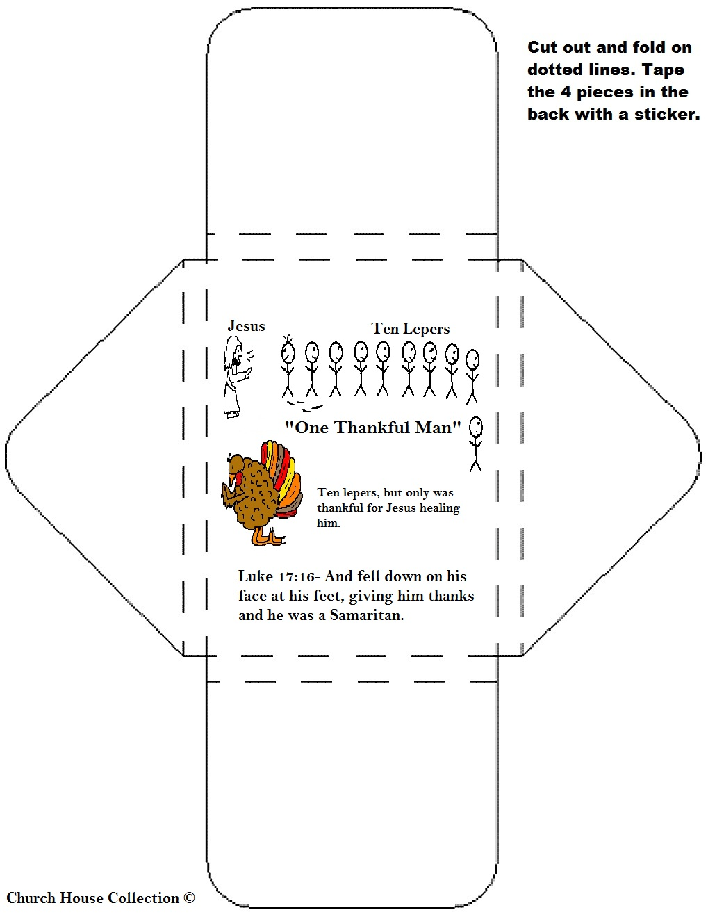 Church House Collection Blog Thanksgiving Lesson For Childrens Church