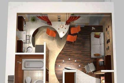 32 Denah Rumah Minimalis Modern Terbaru Berbagai Type Dalam Bentuk 3D