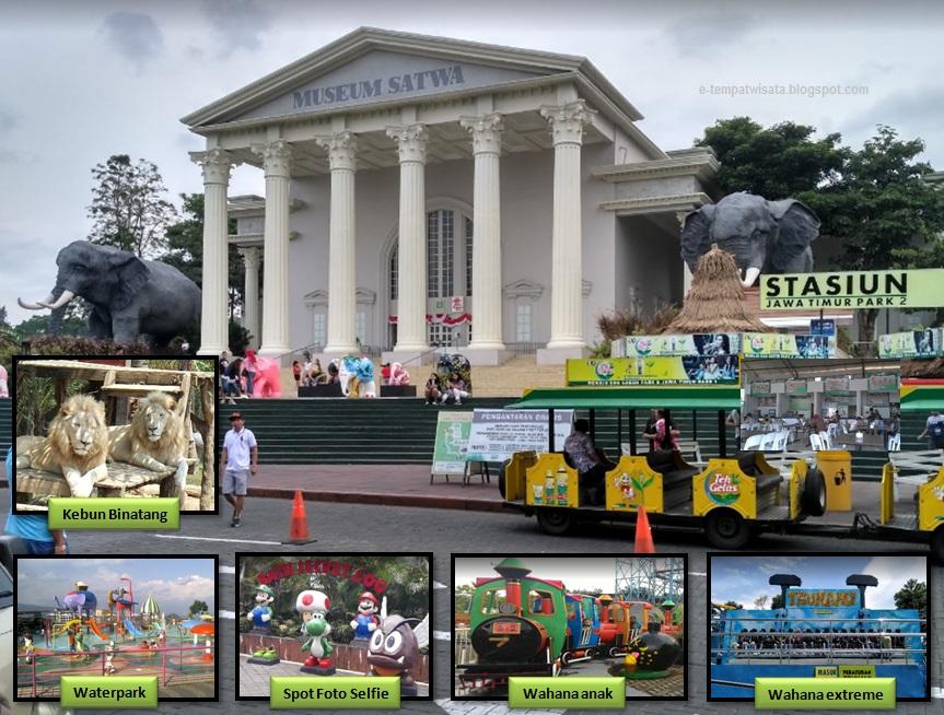 Harga Tiket Masuk Dan Fasilitas Batu Secret Zoo Jatim Park 2 Malang