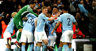 Manchester City Destroy Arsenal 3-0 To Carry The Qarabau Cup