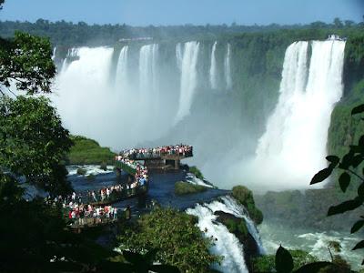 Cataratas do Iguaçu - passarelas brasileiras