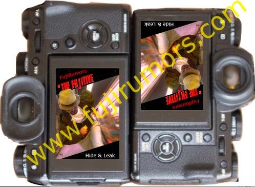 Сравнение габаритов Fujifilm X-T1 и X-T2