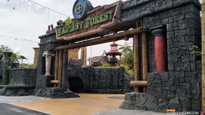 Fantasy Forest Zone