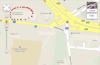 click pe harta pentru locatie