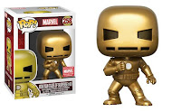 Funko Iron Man Gold Marvel Collector Corps