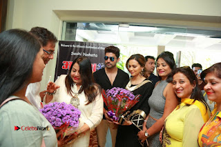 Bollywood Actress Sana Khan Launches Aakrithi Exibition  0409.JPG