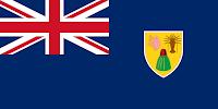 Logo Gambar Bendera Negara Turks dan Caicos PNG JPG ukuran 200 px