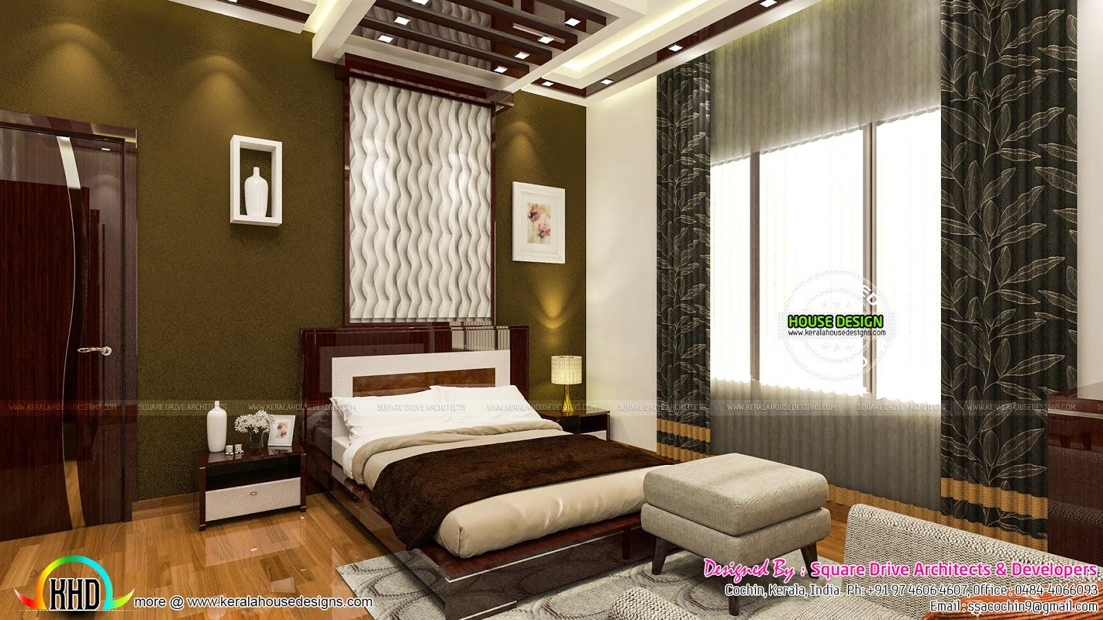 Bedroom, Living, Prayer Room And Study Room