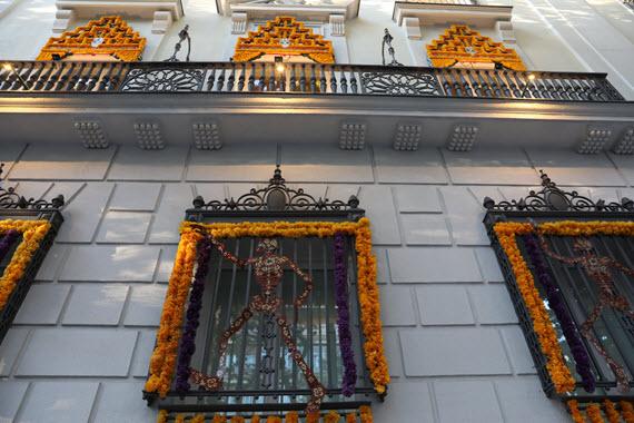 calle mexico madrid