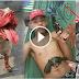 IN VIDEO: Magnanakaw Nilapa Ng Pitbull Ang Mukha!
