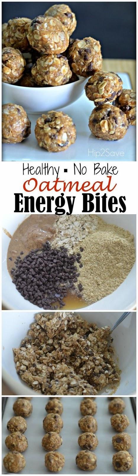 Oatmeal Energy Bítes