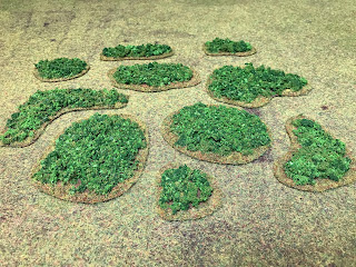 3mm scale forests for wargaming