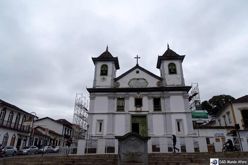 Catedral da Sé - Roteiro 1 dia em Mariana, Minas Gerais