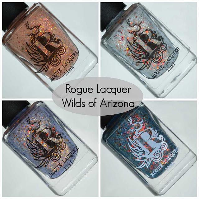 four piece nail polish collection
