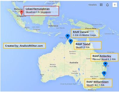 Perspektif 2020 : 100 F-35 Australia dan Singapura Mengancam Indonesia?