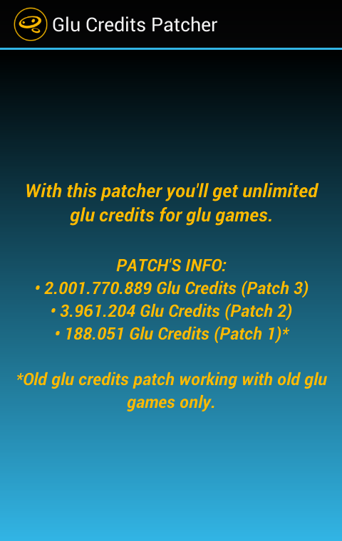 glu credit hack