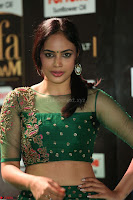 Nandita Swetha in a tight Green Choli Ghagra at IIFA Utsavam Awards March 2017 ~ 061.JPG