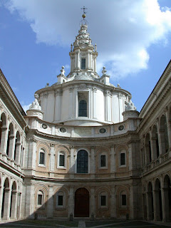 The church of Sant'Ivo alla Sapienza