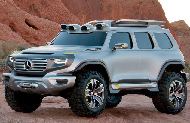 WHAT DO YOU GET IF YOU CROSS A HUMMER WITH MERCEDES TECHDRIVE