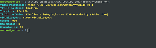 Shell Script YouTube