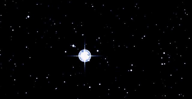 espacio estrella antigua