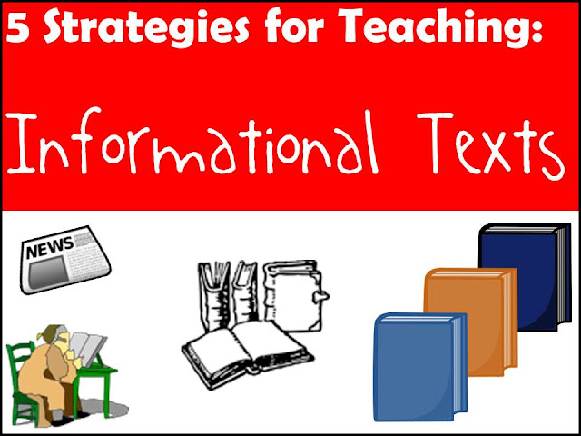 Five strategies for teaching informational texts to students with little background knowledge. Suggestions from Raki's Rad Resources.