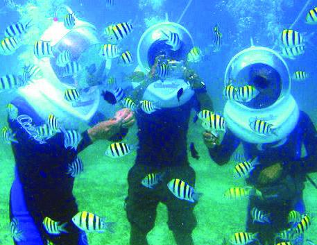 Olahraga air di Bali