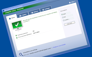 Microsoft security essentials updates