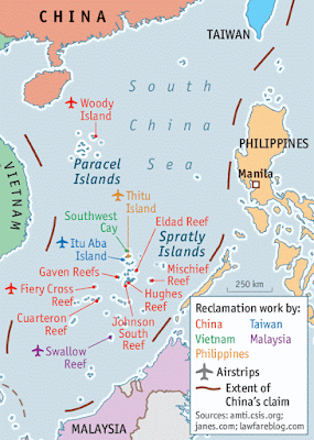 South China sea, Vietnam, Malaysia, India, China, Hong Kong, Pakistan, Brunei, Thailand, Myanmar, Indonesia, Philippines
