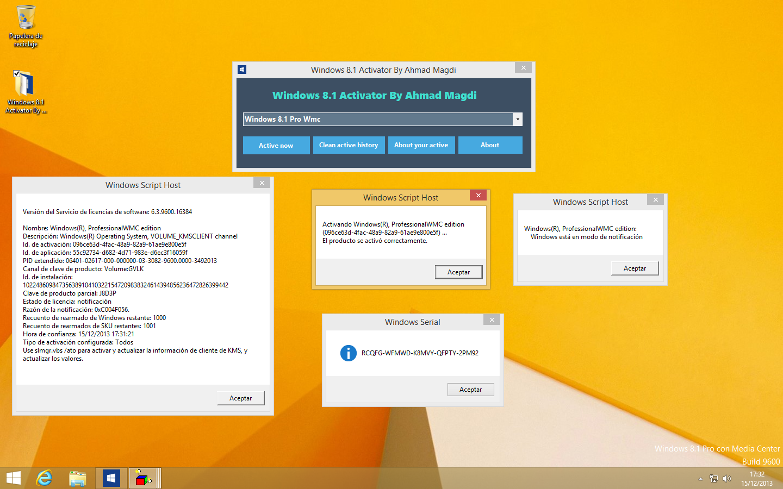 Windows 8.1 Pro Con Media Center By Dimitry + Activadores KMS [X32/X64