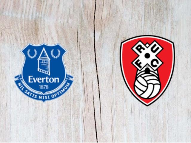 Everton vs Rotherham United - Highlights - 29 August 2018
