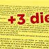 3 dies més per presentar una sol·licitud complementària