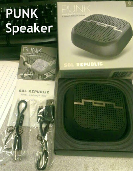 punk speaker  box set