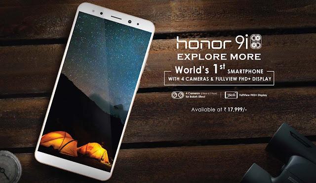 Spesifikasi dan Harga Honor 9i