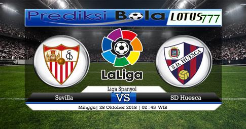 Prediksi Sevilla vs SD Huesca 29 Oktober 2018