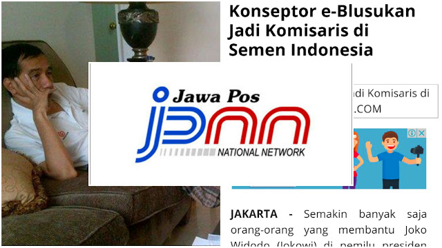 Jawa Pos: Buzzer Jokowi Ini Ternyata Sudah Kebagian Jatah Jadi Komisaris PT Semen Indonesia