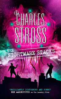 Front cover of Charles Stross' The Nightmare Stacks