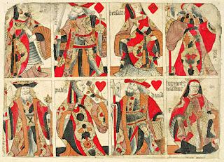 Francia történelmi kártya pakli