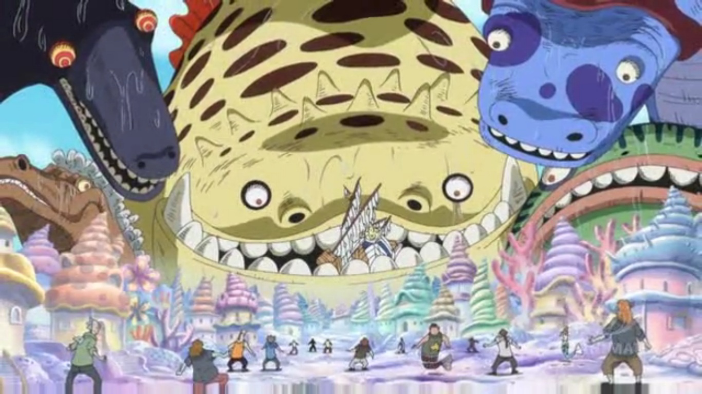 One Piece - Episode 545 - A Celestial Dragon Drifts In ...